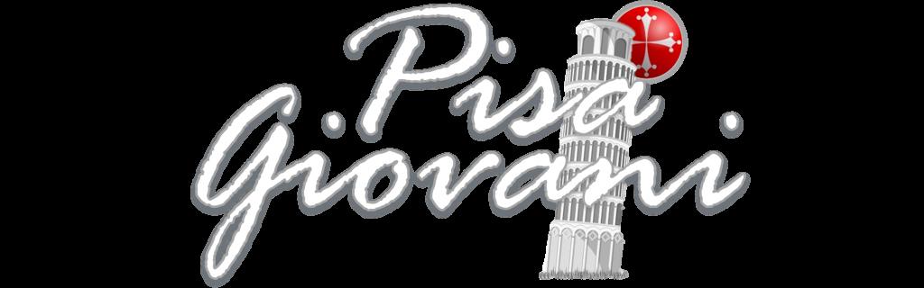 Logo Pisa Giovani bianco